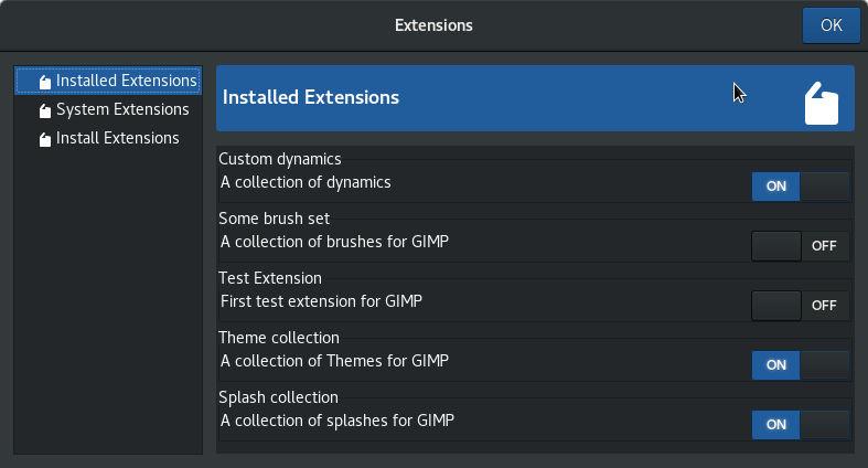 Extension (Ongoing development)