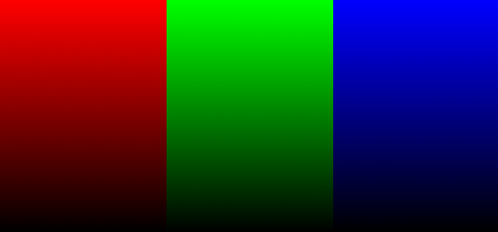 RGB Base Gradient Image